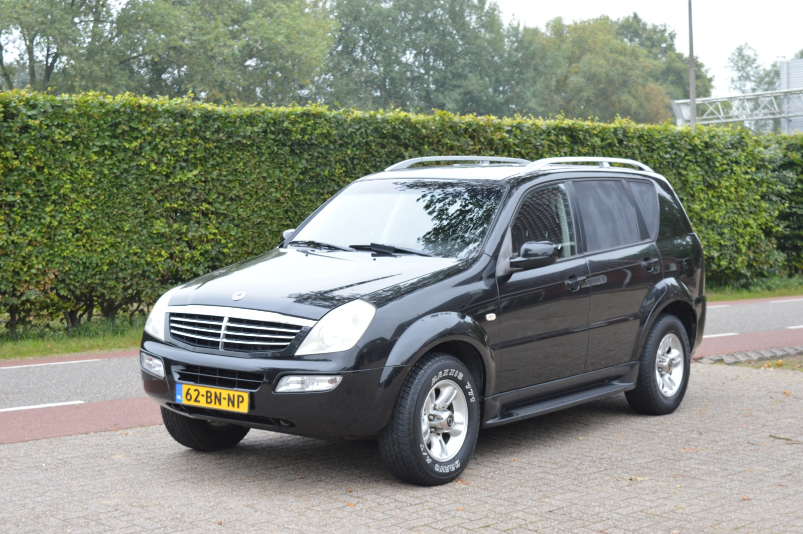 ssangyong rexton rx 290 autobedrijf slager. Black Bedroom Furniture Sets. Home Design Ideas